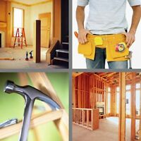 Renovations,  contracting,Toronto area services