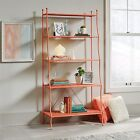 Orange Metal Bookcase Bookcases