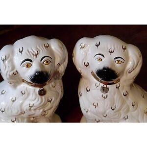 Pair of Vintage Staffordshire Spaniels Kingston Kingston Area image 3