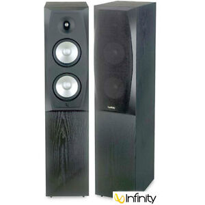 Infinity Entra Three Floor-Standing Speakers (2)