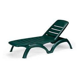 Airone - Professional sun lounger, adjustable to 4 positions. Grand Soleil