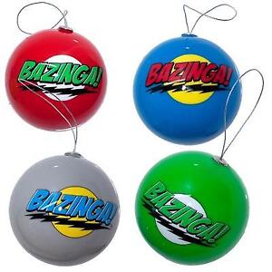 BIG BANG THEORY Christmas Ornaments