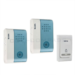 New Wireless Door Bell - 1 Remote Control 2 Wireless digital Receiver Doorbell