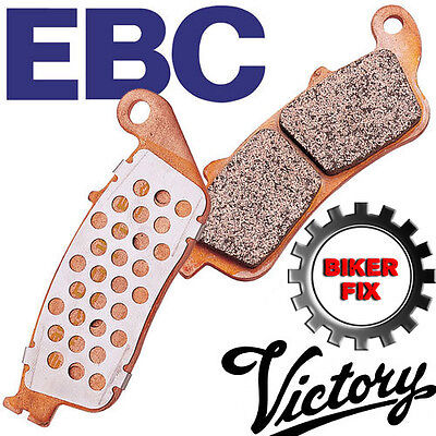 VICTORY Cross Country Tour 12 EBC UPRATED Front Disc Brake Pad FA347HH*