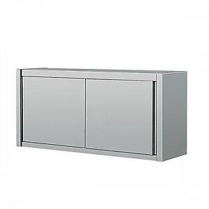 Cabinet / unité de rangement mural - stainless wall cabinet STAINLESS Acier Inoxidable