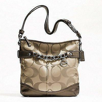 Coach Chain Duffle Handbags Amp Purses Ebay