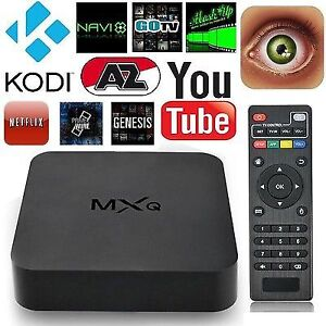 Android tv box with 1 month iptv trial.