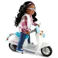 """NEW: Newberry Motor Bike/Scooter For 18"""" Fashion Dolls"""
