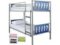 Bunk beds with mattress (memory foam and silent night )