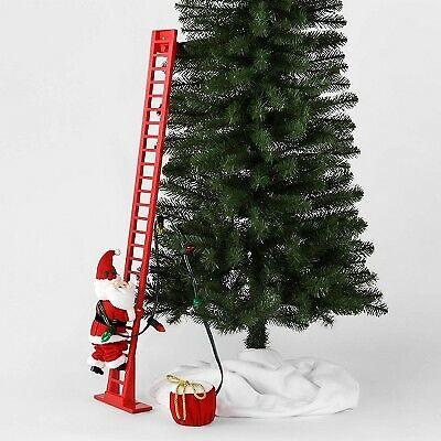 Large Climbing Santa Decorative Figurine Red - Wondershop