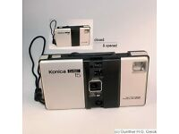 konica disc series 15 camera (1983)