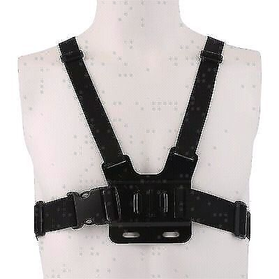 Chest harness for GoPro action camera