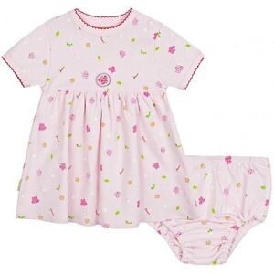 NEW with Tags Kushies Super Soft Jersey Dress Set with Bloomers