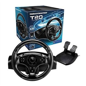 New Thrustmaster T80 Racing wheel for PS4 & PS3