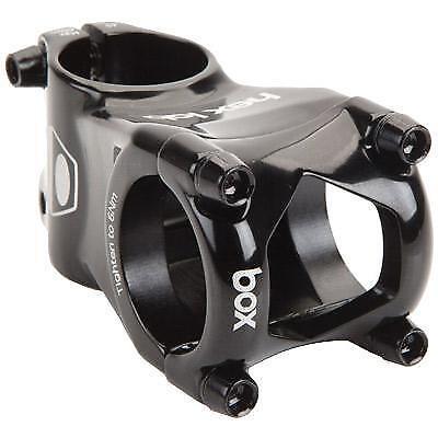 Black 21.1 Bike Fixie Bicycle Threadless Handlebar Stem Adapter Adaptor 858102