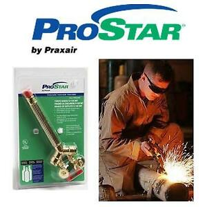 NEW PRAXAIR HEAVY DUTY TORCH HANDLE - 126673817 - CONTROLS THE FLOW RATE INDUSTRIAL TOOL PROSTAR TORCH HANDLE CUTTING