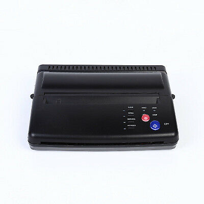 Tattoo Thermal Stencil Maker Tattoo Transfer Copier Printer Machine & Copy Paper