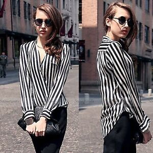 Edgy cross over contrast stripe top Edmonton Edmonton Area image 10