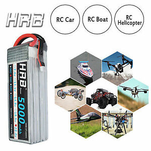 5000mah 50c 6s lipo rc battery brand new sealed package