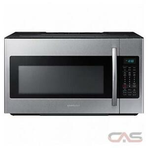 93-  NEUF - NEW Micro-Ondes STAINLESS SAMSUNG avec Hotte/with Hood Microwave NEUF - NEW