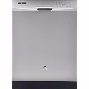 Lave-vaisselle GE encastré à vapeur avec cuve en acier inoxydable, grande capacité,  stainless (SKU : 1166)