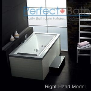 New AM146 Whirlpool Bathtub for One Person