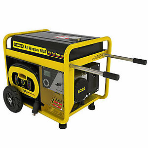 8000W All Weather Electric Start Generator