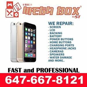 FAST APPLE iPHONE iPAD FIX - iPHONE 8 7 6S/6 Plus 5S 5C 5SE 5 4S/4 CRACKED SCREEN, CHARGING PORT, BATTERY REPAIR FIX