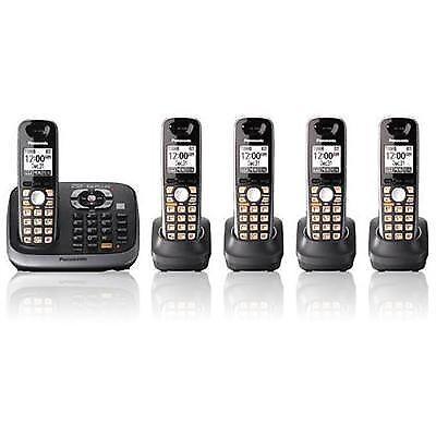 Panasonic KX-TG6545B Cordless Telephone