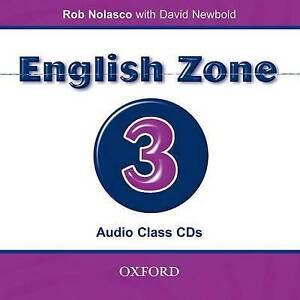 English Zone 3: Class Audio CDs (2) by David Newbold, Rob Nolasco (CD-Audio,...