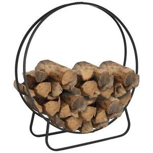 Outdoor Wood Ring - Log Holder - New