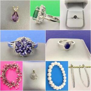 GOLD, Diamonds, Sterling, Pendants, Rings, Bracelets, Gemstones, Watches, BLOW OUT SALE! Everything must go! Ends Monday