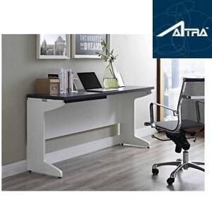 NEW* ALTRA PURSUIT CREDENZA DESK - 110760727 - WHITE AND GREY