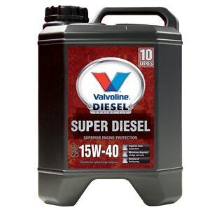 Valvoline Super Diesel Engine Oil - 15W-40, 10 Litre - Super Cheap Auto