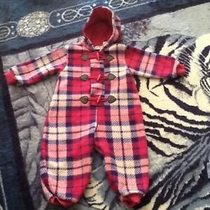 Baby 24 months winter suit