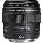 Canon EF 85mm Telephoto Camera Lenses