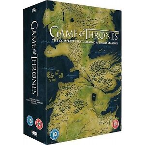 Game-Of-Thrones-Season-1-3-Series-1-3-DVD-Complete-Season-UK-Region2-BRAND-NEW
