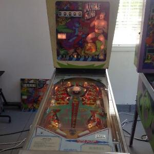 Jungle King Pinball Machine great for Mancave