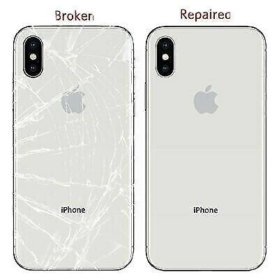 iPhone 8 8+ X XS XR XS Max Back Glass Replacement Service/Repair Mail In Service