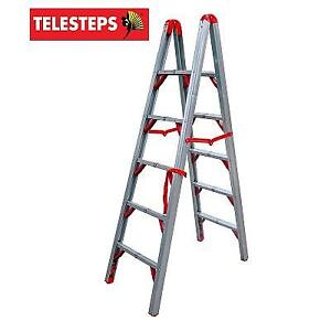 NEW* TELESTEPS 6' FOLDING LADDER 600FLD 211638851 DOUBLE SIDED