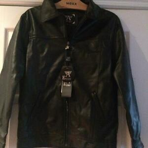 New w tags Emporio leather like women's coats
