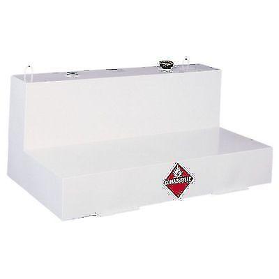 Delta 480000 White Steel 103 Gallon L-Shaped Liquid Transfer Tank