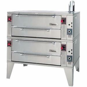 Full size garland pyro deck pizza ovens