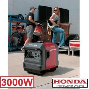 NEW HONDA 3000W INVERTER GENERATOR - 132673326 - 196 CC 4 HP ELECTRIC START BATTERY GENERATORS OUTDOOR POWER EQUIPMEN...