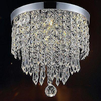 Hile Lighting KU300074 Modern Chandelier Crystal Ball Fixture Pendant Ceiling