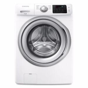 Laveuse à chargement frontal de 4,8 pi³ avec Smart Care Blanche ( WF42H5100AW )