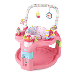 "☆ LIKE NEW ☆Pink ""Bright Starts"" Exersaucer"