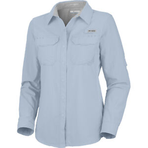 Columbia ultimate chill long sleeve fishing shirt womens for Columbia fishing shirts womens