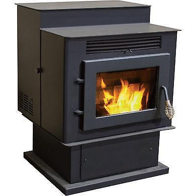 Pellet stove hearth ebay - Pellet stoves for small spaces set ...