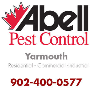 Guaranteed Pest Control Services for Yarmouth/902-400-0577